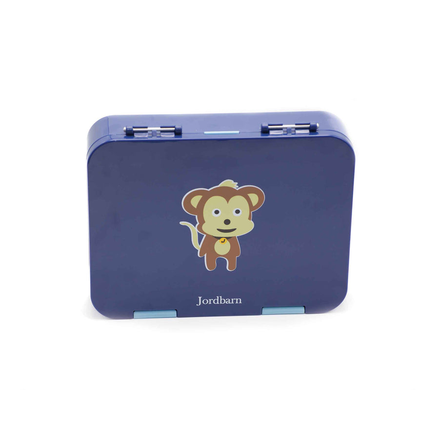 Bento lunch box - monkey - indigo - Jordbarn