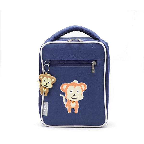 Bento cooler bag - monkey - indigo - Jordbarn