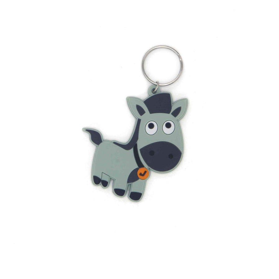 Key ring Name Tag - horse - Jordbarn