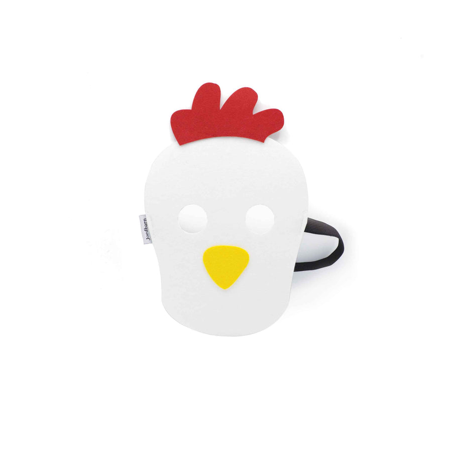 Party face mask - rooster - Jordbarn