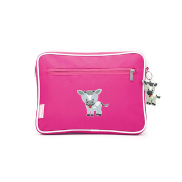 Pencil case | ipad case - goat - magenta - Jordbarn
