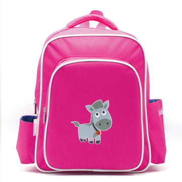Backpacks - horse - magenta - Jordbarn