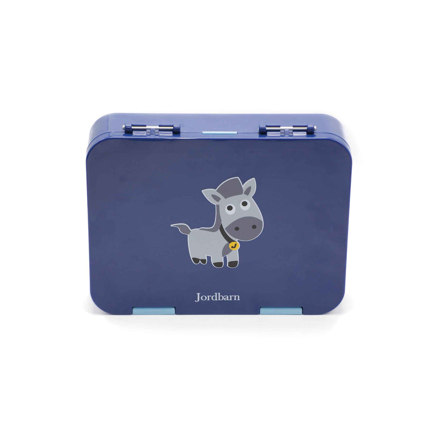 Bento lunch box - horse - indigo - Jordbarn
