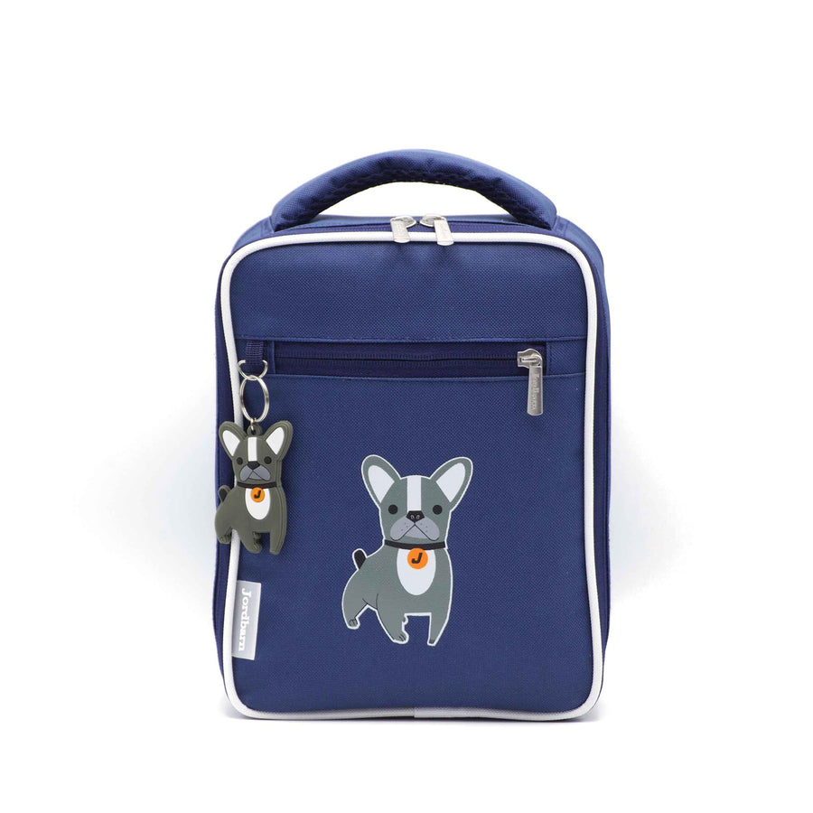 Bento cooler bag - dog - indigo - Jordbarn - Earth Child
