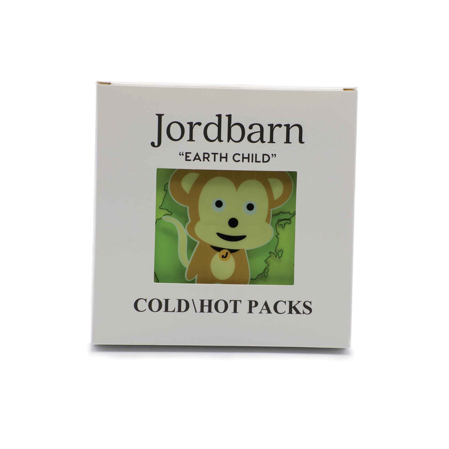 Gel hot cold pack - monkey - Jordbarn