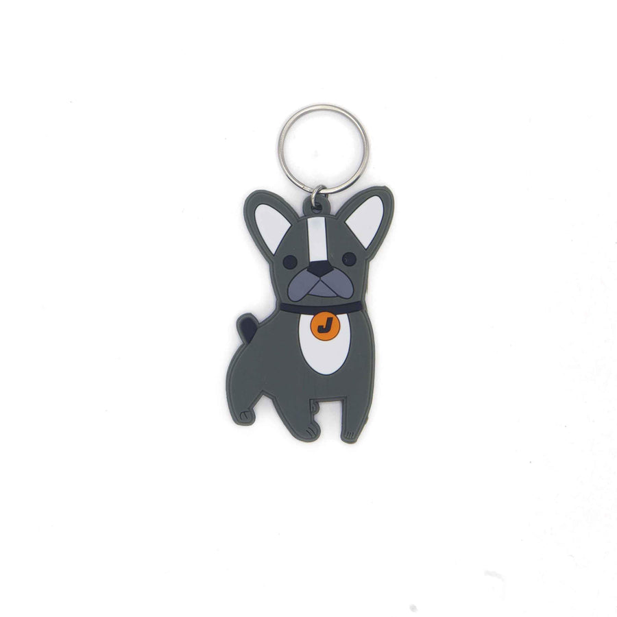 Key ring Name Tag - dog - Jordbarn