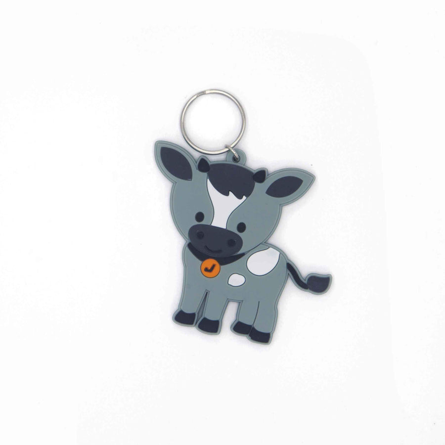 Key ring Name Tag - goat - Jordbarn