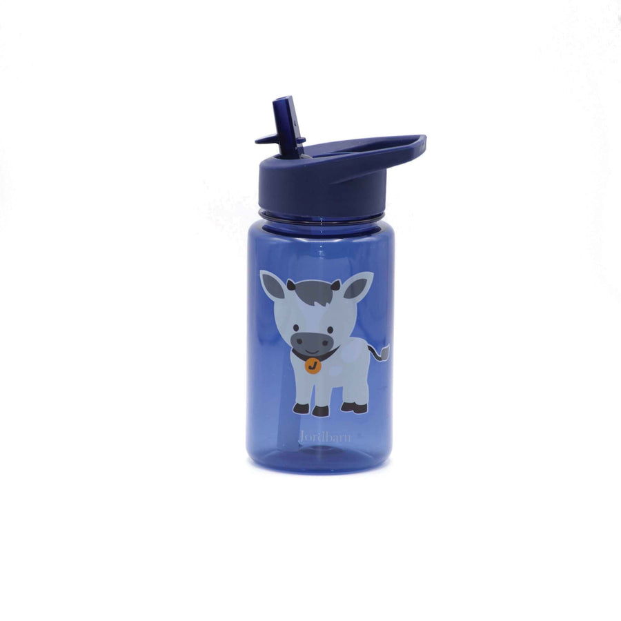 Water bottle - goat - indigo - Jordbarn