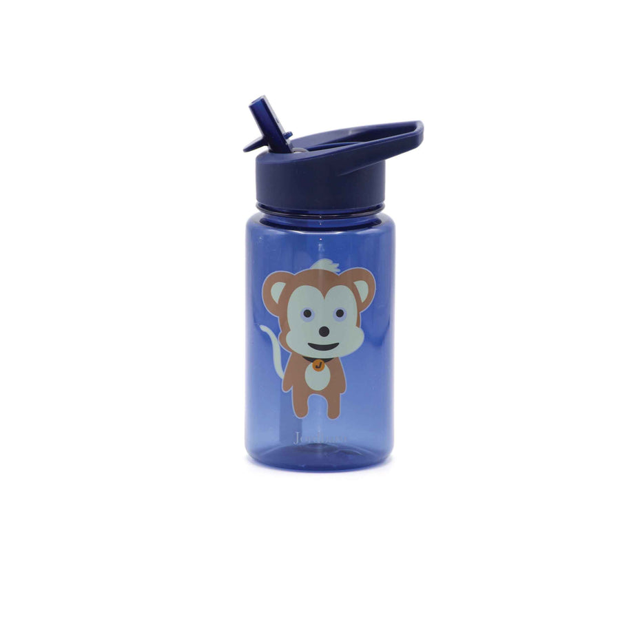Water bottle - monkey - indigo - Jordbarn