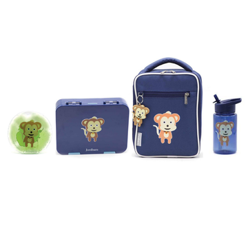 Bento Value Pack Indigo - Monkey - Jordbarn