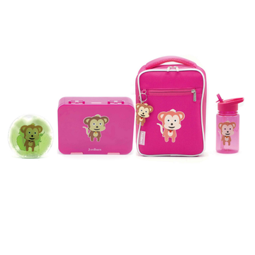 Bento Value Pack Magenta - Monkey - Jordbarn