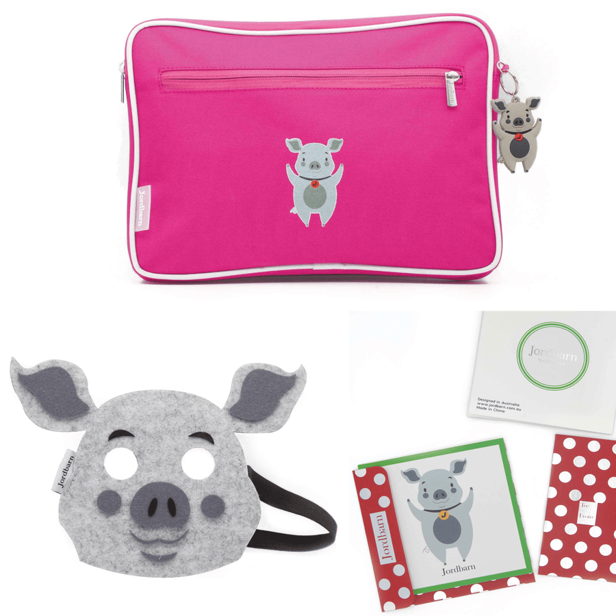 Birthday Value Pack - magenta - Pig - Jordbarn