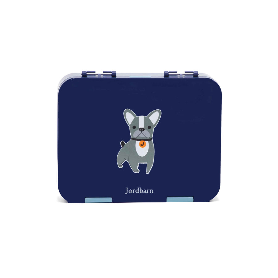Bento lunch box - dog - indigo - Jordbarn