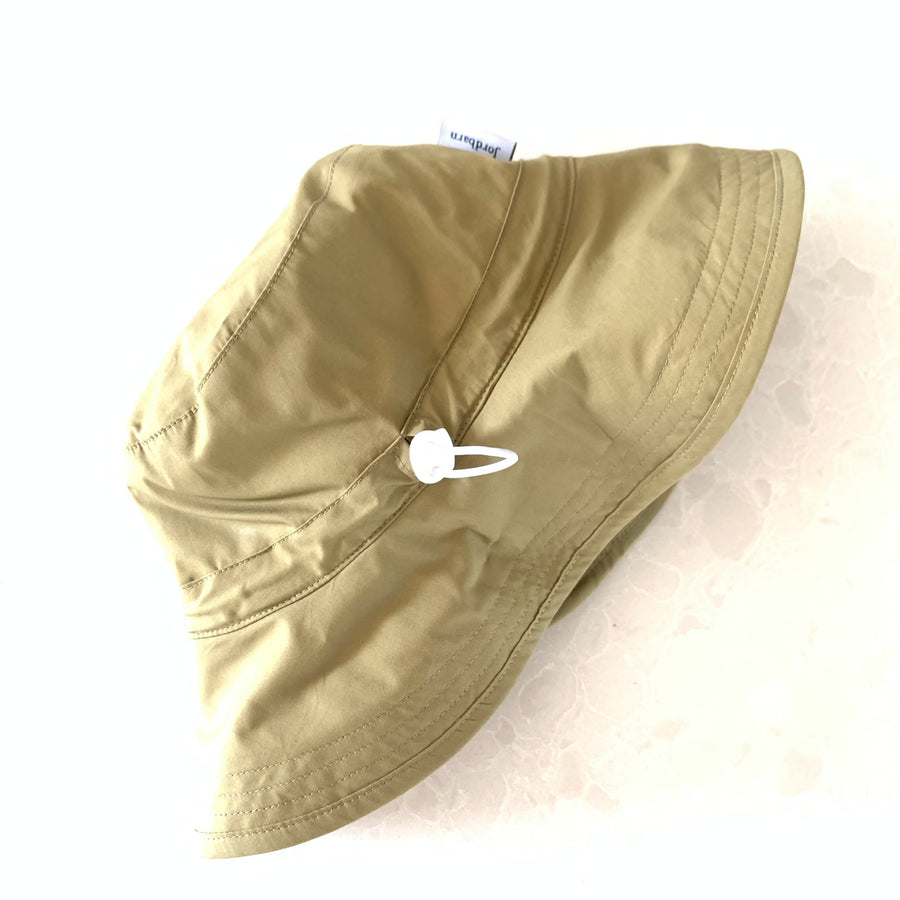 Kids Army Moss Green Bucket Hat - UPF 50+