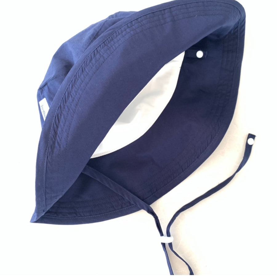 Kids Primary School Bucket Hat - UPF 50+ Navy Blue