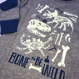 Dino Bone To Be Wild Longsleeve T-Shirt (2492717563986)