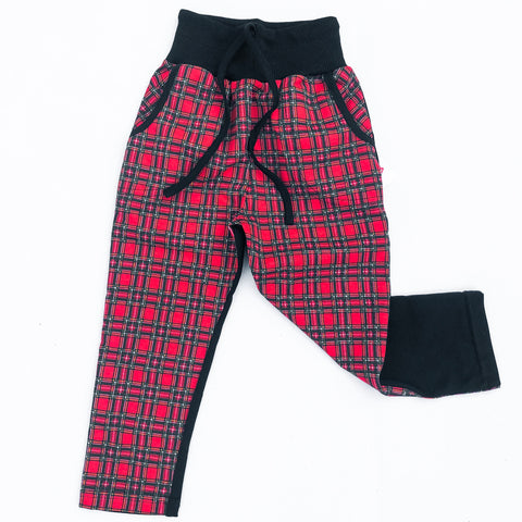 Plaid Front Pants (4185718685778)