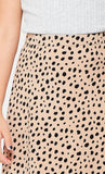 Cheetah High Waisted Skirt