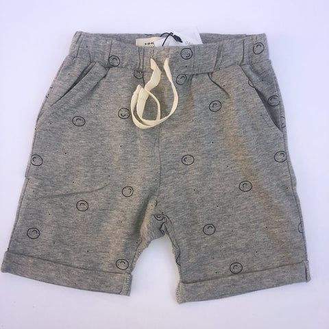 Organic Happy Face Boys Shorts (2525305569362)