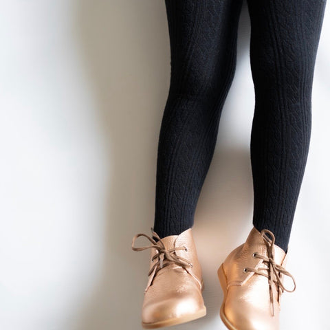 Cable Knit Tights (4308844609618)