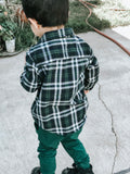 Forest Green Flannel (4156836184146)