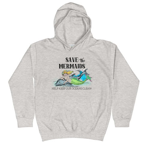 Save The Mermaids Hoodie (4297660301394)