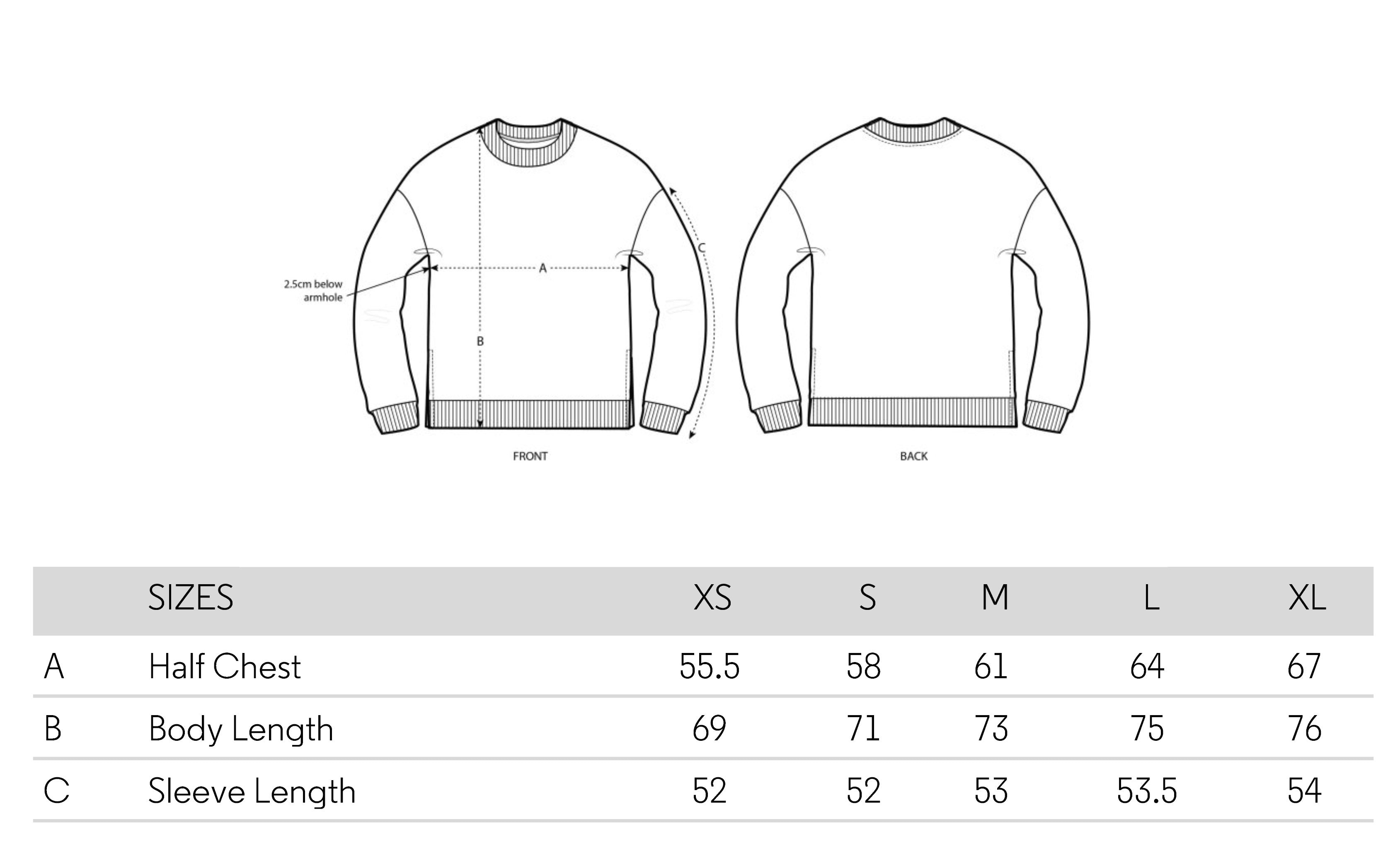 the-slow-label-sweatshirt-006-sizing-chart