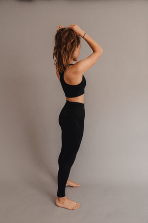 Compressive High-Rise Legging Black
