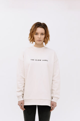 Vintage White The Slow Label Sweatshirt