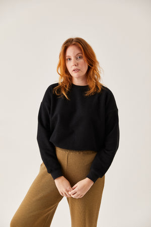 The Inside-Out Sweatshirt Black