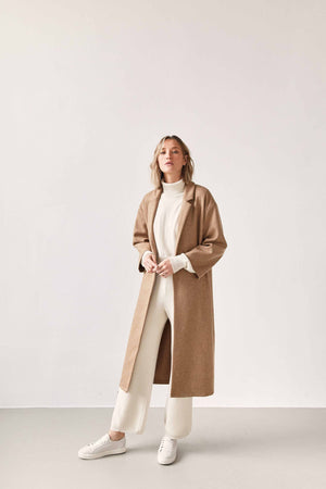 The Wool Overcoat Camel