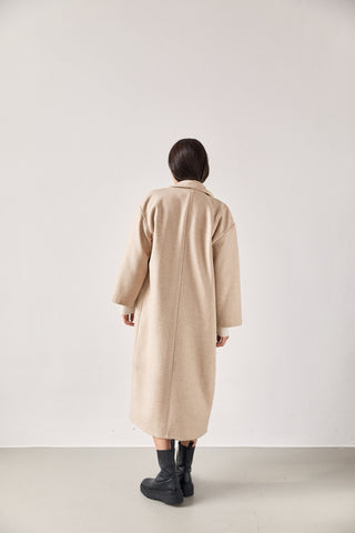 The Wool Overcoat Cream