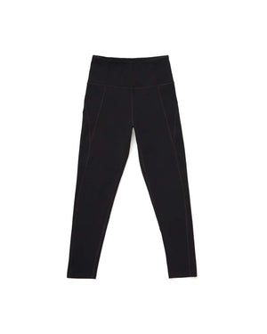 Black 7/8 High-Rise Legging