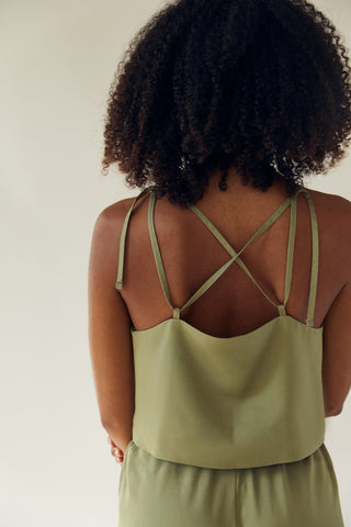 The Cropped Tank Leaf