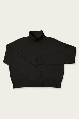The Turtleneck Jumper Black