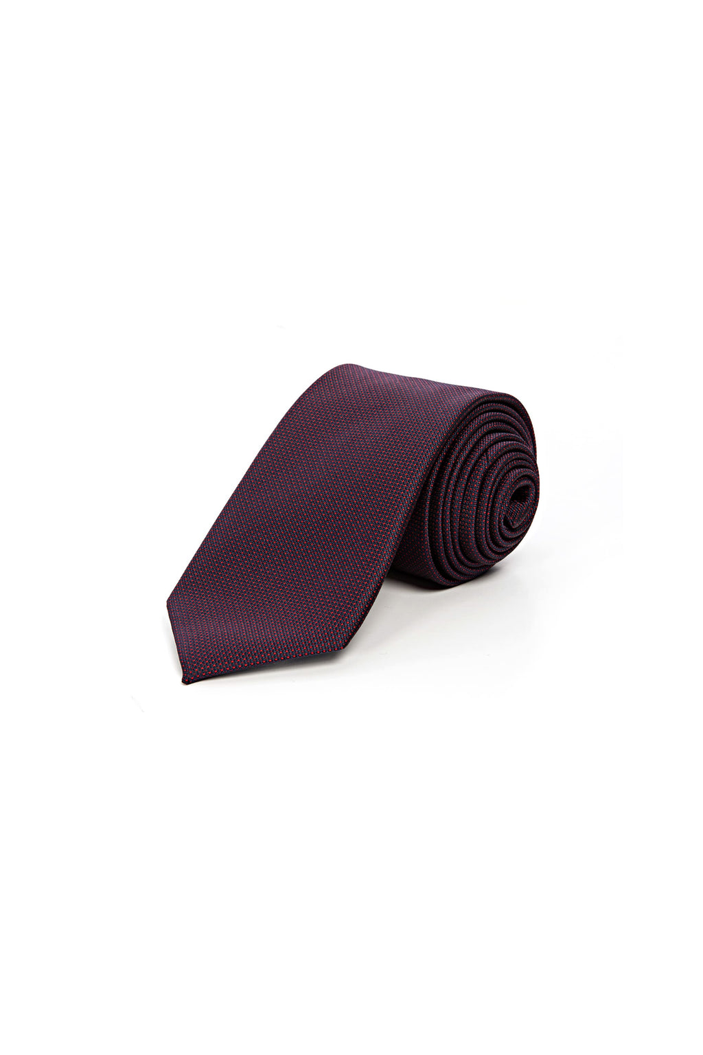 Romano Botta Bordeaux Silk Touch Tie