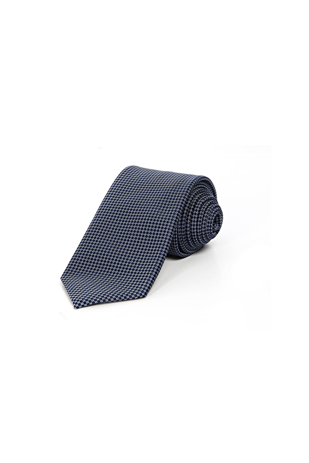 Romano Botta Navy-White Dotted Tie