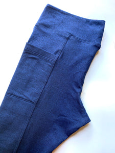 Nesters Leggings for Nephrostomy bags | Navy