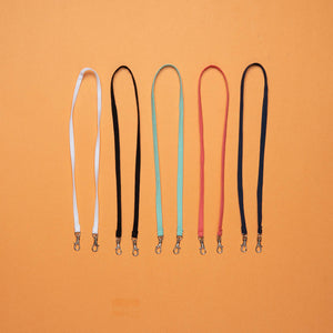 Open image in slideshow, Neck Straps for Face Mask, 5 assorted colors