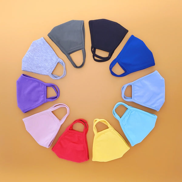 Kids Reusable Cloth Face Mask, Make Your Own Pack!