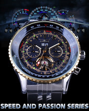 Elation Series Golden Bezel Scale Design