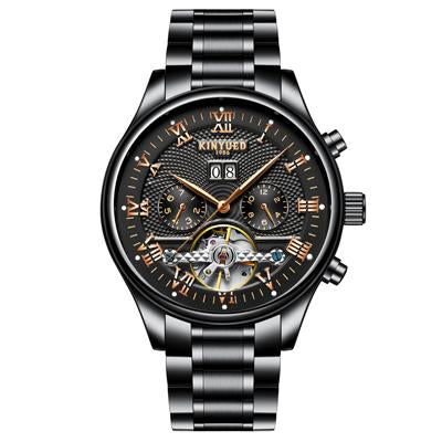 """Euphoria Twilight"" brown black white silver - Panache Watches™"