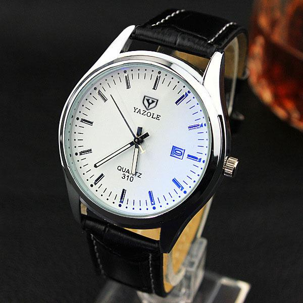 """Elation Terrace"" black brown white - Panache Watches™"