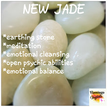 Load image into Gallery viewer, NEW JADE TUMBLED STONE