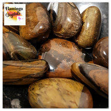Load image into Gallery viewer, TIGERS EYE TUMBLED STONE