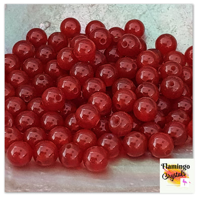 CARNELIAN BEADS - NATURAL (DYED)
