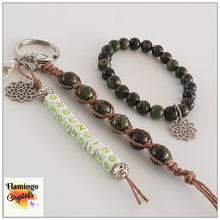 Load image into Gallery viewer, GROUNDING BRACELET & DANGLER SET
