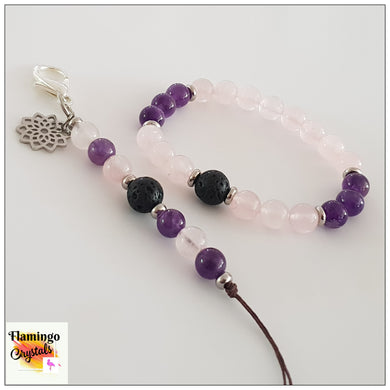 MOTHERHOOD BRACELET & DANGLER DIFFUSER SET