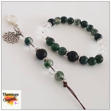 WELL-BEING BRACELET & DANGLER DIFFUSER SET