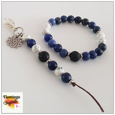 STRESS LESS BRACELET & DANGLER DIFFUSER SET